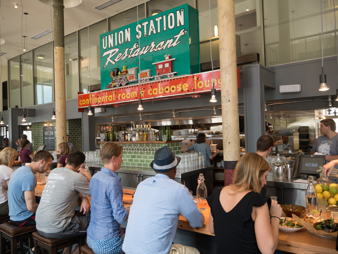 the kitchen next door – union station guide