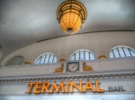 You can't miss the Terminal Bar inside the main hall!