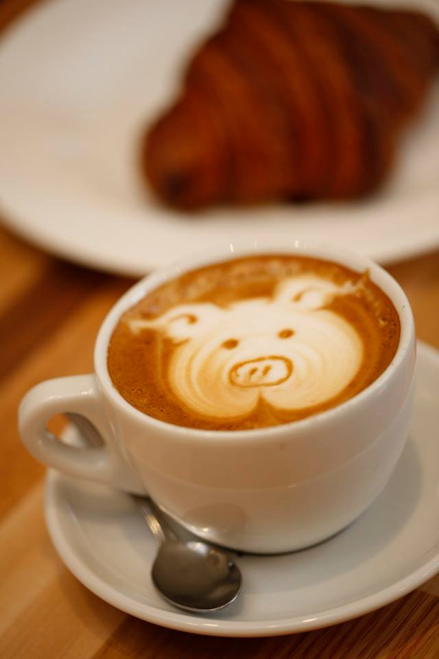 Pigtrain pig coffee
